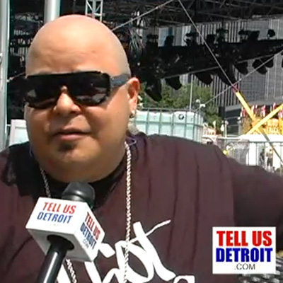 Tell Us Detroit TV interview DJ Sneak