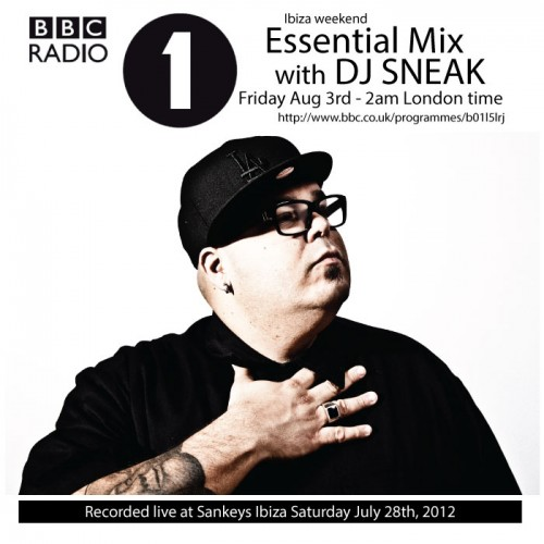 DJ Sneak's BBC Radio 1 Essential Mix