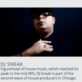 DJ Sneak mix for Electron Festival