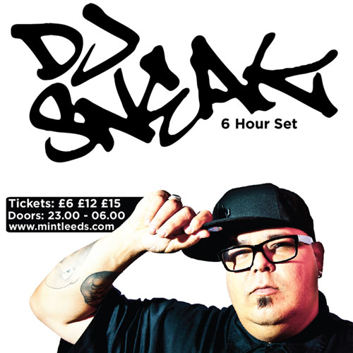 DJ Sneak @ Six, The Mint Club, Leeds UK [video]