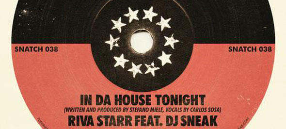 In Da House Tonight - Vol 2 - Sneak Riva Starr