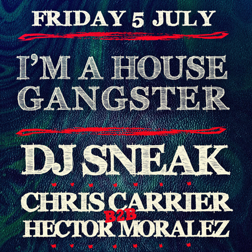 I'm A House Gangster @ Egg London, July 5th + video of debut party