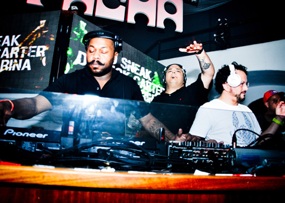 Sneak, Carter & Farina return to Pacha