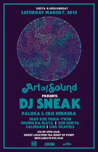 Art of Sound Featuring DJ Sneak